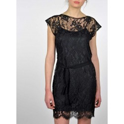 French Leavers Lace dress