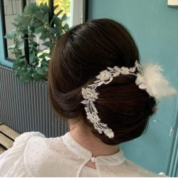 Hairdressing accessories for brides : Lea' flowers