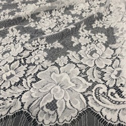 The Soft - French Leavers Lace cut