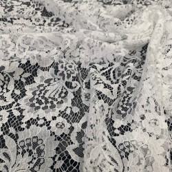 Warm - French Leavers Lace cut
