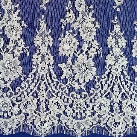 Louise 110 cm - French Leavers Lace