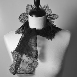 Leavers lace scarf