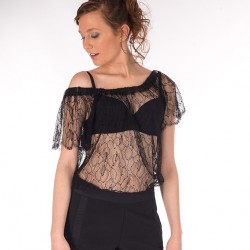 French Leavers Lace Blouse