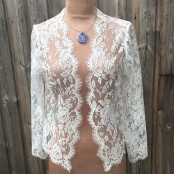 Jacket Michelle - French Leavers Lace